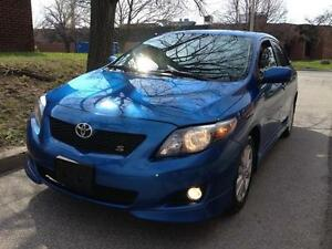 2009 Toyota Corolla 1.8 Sport Sedan, SAFETIED
