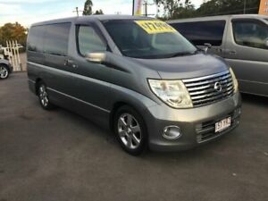 2007 Nissan Elgrand E51 Highway Star Grey 5 Speed Automatic Wagon Underwood Logan Area Preview