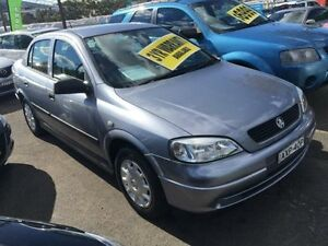 2004 Holden Astra TS MY04.5 Classic Silver 4 Speed Automatic Sedan Lidcombe Auburn Area Preview