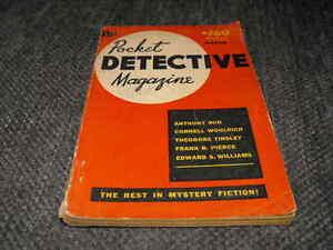 "Old Pocket Detective & Old ""Men Only"" Magazine London Ontario image 4"
