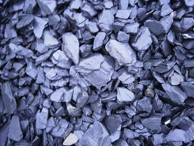 Blue Slate 40mm Decorative Aggregate - 900kg Bulk Bag FOC top up bag