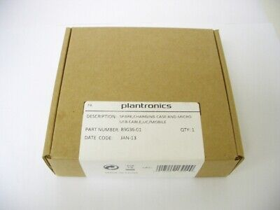 Plantronics Voyager Legend Carga Funda 89036-01 Negro Con USB Cable Sin Casco