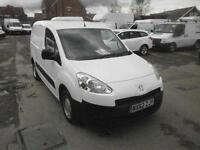 Peugeot Partner L1 850 S 1.6 Hdi 92 Van DIESEL MANUAL WHITE (2012)