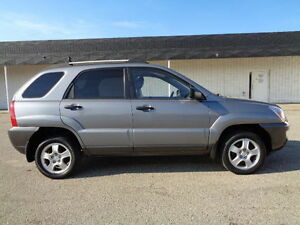 2008 Kia Sportage LIMITED SPORT PKG V6 4WD--H/LEATHER-SUNROOF