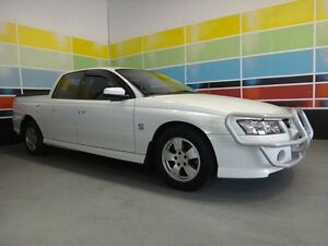 2005 Holden Crewman VZ S White 4 Speed Automatic Wangara Wanneroo Area Preview