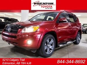 2009 Toyota Rav4 Sport, AWD, Side Steps, Alloy Rims, AUX, Power