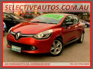 2015 Renault Clio X98 Expression Red 6 Speed Automated Manual Hatchback