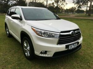 2016 Toyota Kluger GSU55R Grande (4x4) Crystal Pearl 6 Speed Automatic Wagon Sale Wellington Area Preview