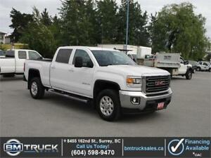 2015 GMC SIERRA 2500HD SLE CREW CAB SHORT BOX 4X4