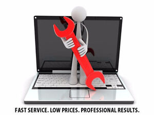 Computer repairman. Call, text or email for a free estimate