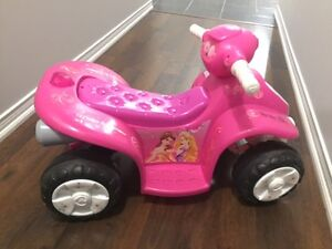 Ride-On for Kids (Disney Princess Quad 6 Volt Ride-On)