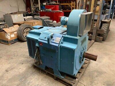 250 Hp Reliance Dc Electric Motor 650 Rpm Fr. 685atz Dpfv 500 V Eok