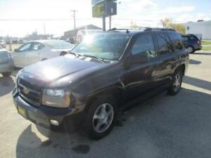 2008 CHEVROLET TRAILBLAZER 4X4, SUNROOF, SAFETY&WARRANTY $6,950