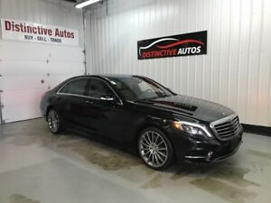 2015 Mercedes-Benz S-Class S550 4MATIC LWB AMG PACK NAVI PANO S