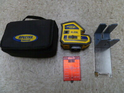 Spectra Precision 5.2xl 2 Point And Cross Line Laser Package