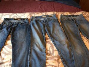 Lot de jeans Guess, Tommy, Bench