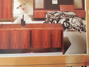 Bedroom dresser and Headboard case with night tables West Island Greater Montréal image 2