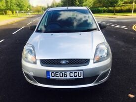 FORD FIESTA 1.4 STYLE CLIMATE 16V 5DR (silver) 2006