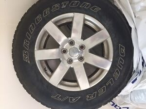 "18"" Jeep Wrangler Rims and Tires"