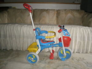 ADORABLE 3 IN 1, MY FIRST THOMAS AND FRIENDS TRIKE/PARENT HANDLE