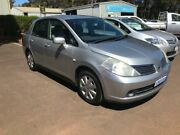 2008 Nissan Tiida C11 MY07 ST Silver 4 Speed Automatic Sedan Margaret River Margaret River Area Preview