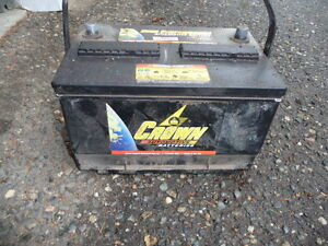 car, truck or marine battery 12.5 volts