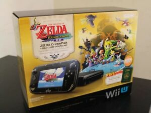 Nintendo Wii U Zelda Wind Waker Special Addition