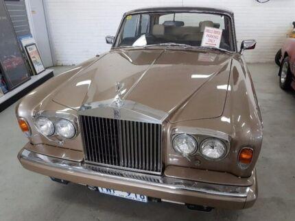 1978 Rolls-Royce Silver Shadow MK II Brown 3 Speed Automatic Sedan