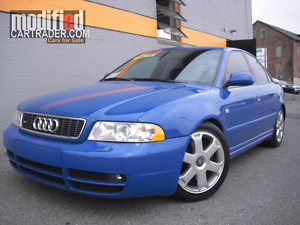 Looking for Audi B5 S4 in Nagaro Blue