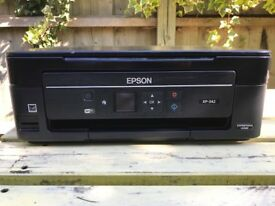 Compact Wi-Fi small-in-one EPSON XP 342( Printer + scanner)-New