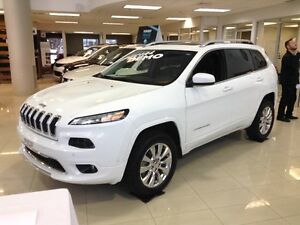2016 Jeep Cherokee Overland, 4X4 NAV, CUIR, CAMERA, TOIT OUVRANT