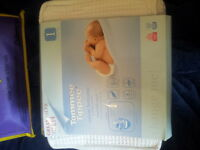 Tommee tippee cotton bottoms re-usable nappies essentials pack