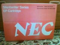 NEW NEC Silentwriter S60, S60P and S62P black toner cartridge unopened in original box