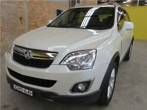 2012 Holden Captiva CG Series II 5 White 6 Speed Sports Automatic Wagon Cardiff Lake Macquarie Area Preview