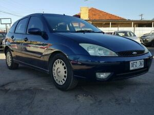 2004 Ford Focus LR MY2003 CL Blue 5 Speed Manual Hatchback Blair Athol Port Adelaide Area Preview