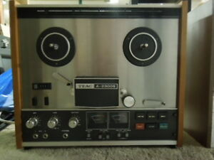 Vintage Real to Real Tape player Recorder