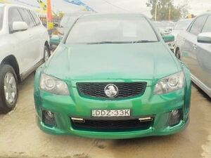 2011 Holden Commodore SSV Green Manual Sedan Lansvale Liverpool Area Preview
