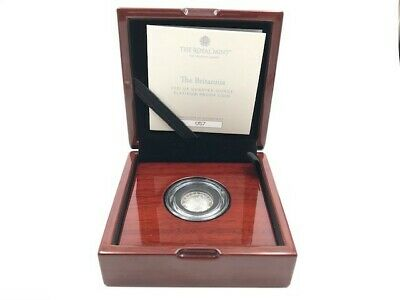 The Britannia 2021 UK Quarter-Oz Platinum Proof Coin. Limited Ed 150. Sold Out.