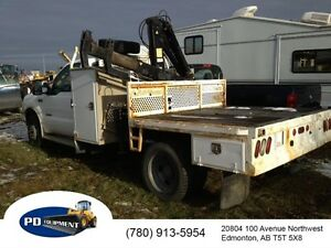2004 Ford F450 4x4 Picker Truck