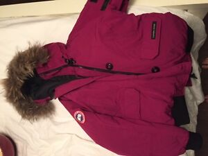 AUTHENTIC Pink Canada Goose Jacket