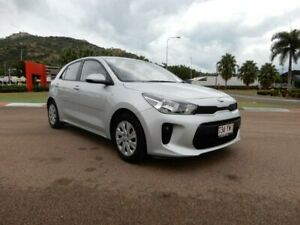 2017 Kia Rio YB MY18 S Silver 4 Speed Sports Automatic Hatchback Townsville Townsville City Preview