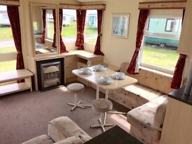 😀😀Stunning 12ft Static Caravan for sale on Northumberland Coast open 12 months 5* facilities😀😀
