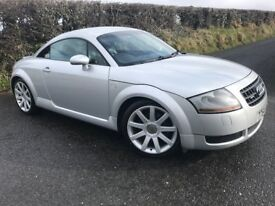 2005 AUDI TT 1.8T QUATTRO 180 BHP ALLOYS FULL LEATHER HEATED SEATS MOT TO JAN 19 CAR IS MINT