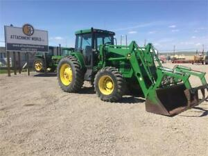 2002 John Deere 7510 Tractor w/ Loader/Grapple ONLY 5,002 hours!
