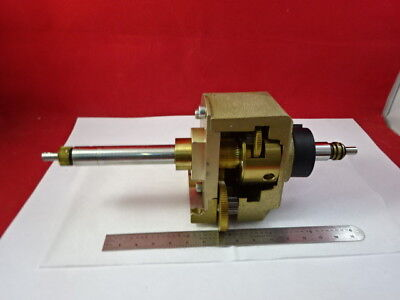 Reichert Leica Polyvar Stage Mechanism Microscope Part As Is B8-a-14