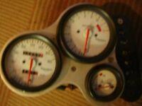 triumph daytona 995i clocks