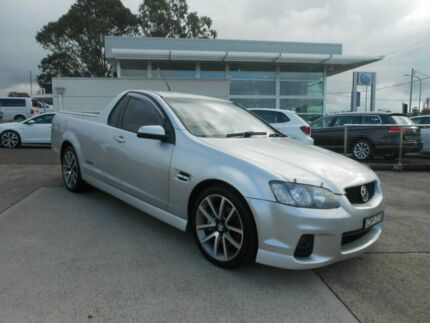 2011 Holden Ute VE II MY12 SS V Silver 6 Speed Sports Automatic Utility Nowra Nowra-Bomaderry Preview