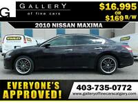 2010 Nissan Maxima SV $169 bi-weekly APPLY NOW DRIVE NOW