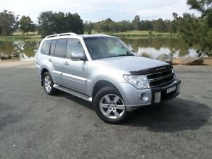 2010 Mitsubishi Pajero NT MY11 RX (4x4) Silver 5 Speed Auto Sports Mode Wagon Belconnen Belconnen Area Preview