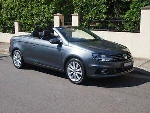 2013 Volkswagen EOS 1F MY13.5 155TSI Dark Silver Convertible Petersham Marrickville Area Preview